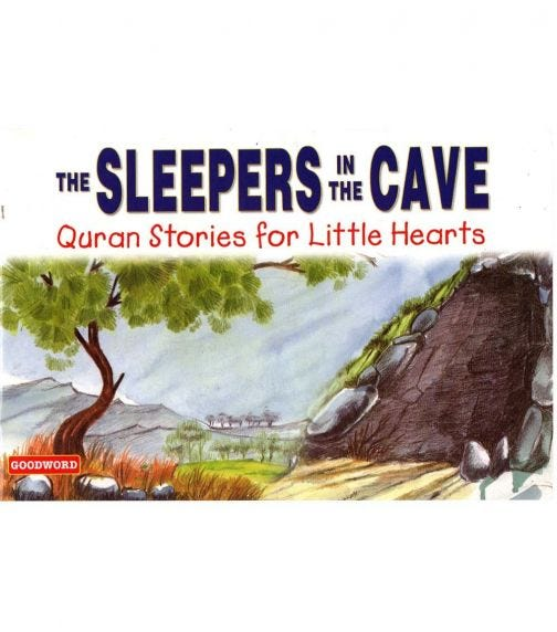 GOODWORD The Sleepers In The Cave (Paperback Cover)