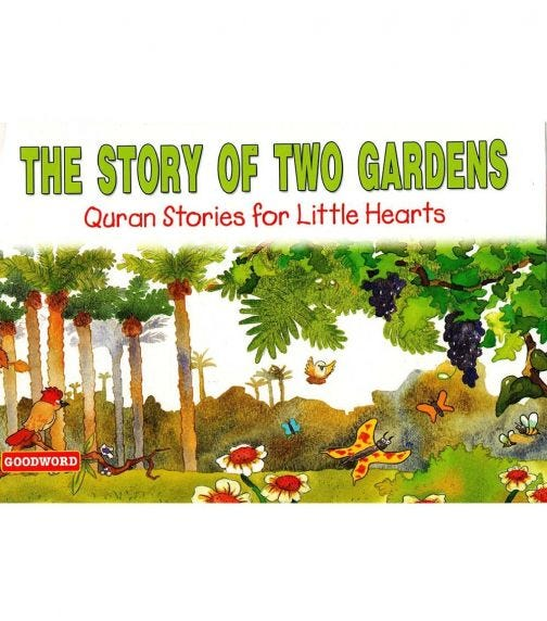GOODWORD The Story Of Two Gardens (Paperback Cover)