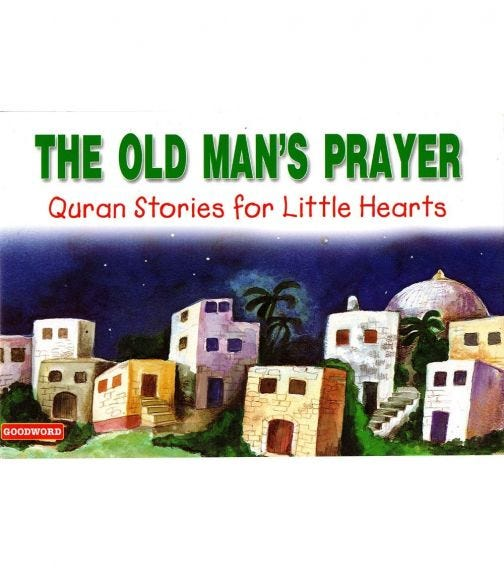 GOODWORD The Old Man's Prayer (Paperback Cover)