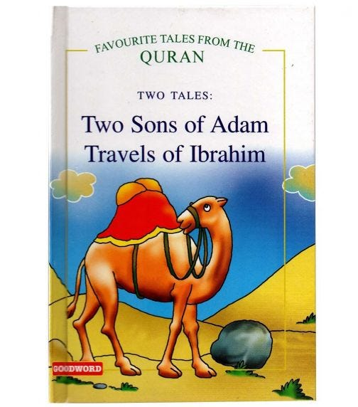 GOODWORD Two Sons Of Adam, Travels Of Ibrahim (Hardback Cover)