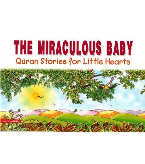 GOODWORD The Miraculous Baby (Paperback Cover)