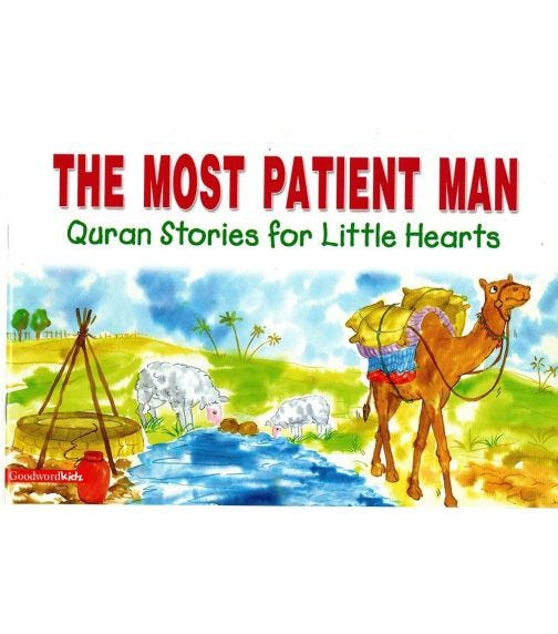 GOODWORD The Most Patient Man (Paperback Cover)