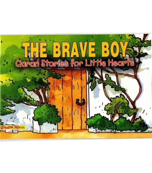 GOODWORD The Brave Boy (Paperback Cover)
