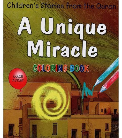 GOODWORD A Unique Miracle (Coloring Book)