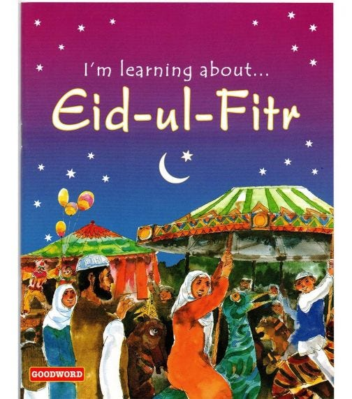 GOODWORD I'm Learning About Eid-Ul-Fitr (Paperback Cover)