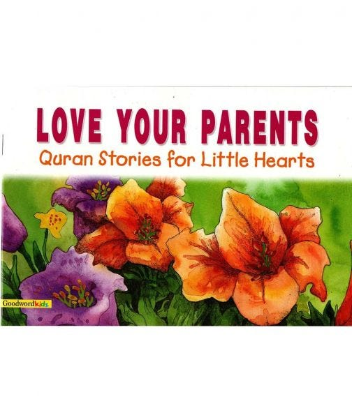 GOODWORD Love Your Parents (Paperback Cover)