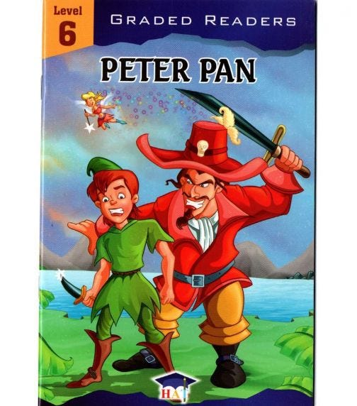 HOME APPLIED TRAINING Level 6 - Peter Pan