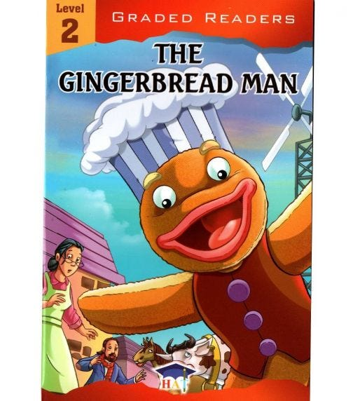 HOME APPLIED TRAINING Level 2 - The Gingerbread Man