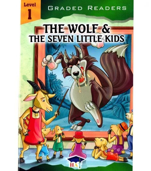 HOME APPLIED TRAINING Level 1- The Wolf & The Seven Little Kids
