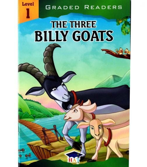 HOME APPLIED TRAINING Level 1 - The Three Billy Goats