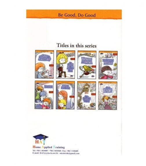 HOME APPLIED TRAINING Be Good, Do Good - 8 Moral Story Books Set