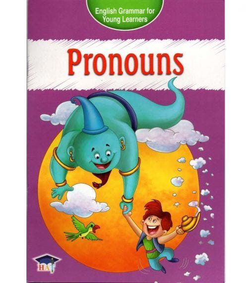 HOME APPLIED TRAINING English Grammar For Young Learners - Pronouns