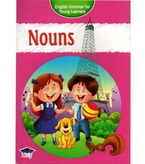 HOME APPLIED TRAINING English Grammar For Young Learners - Nouns