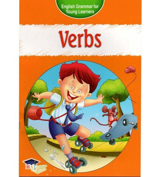 HOME APPLIED TRAINING English Grammar For Young Learners - Verbs