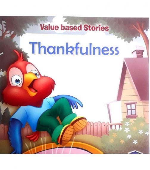 HOME APPLIED TRAINING Value Based Stories - Thankfulness