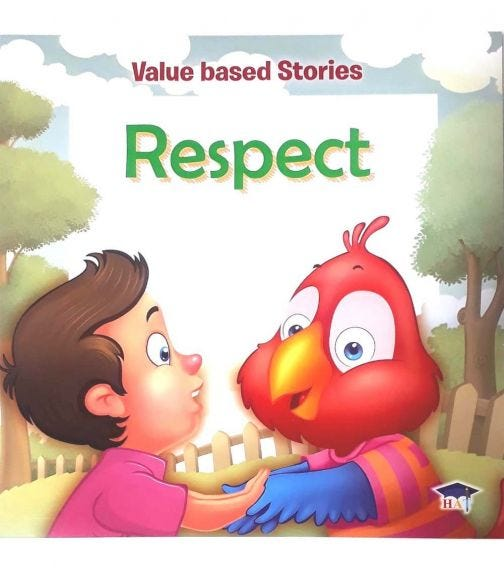 HOME APPLIED TRAINING Value Based Stories - Respect