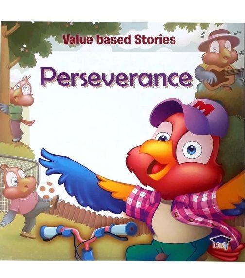 HOME APPLIED TRAINING Value Based Stories - Perseverance