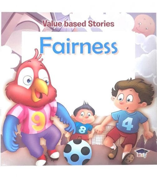 HOME APPLIED TRAINING Value Based Stories - Fairness