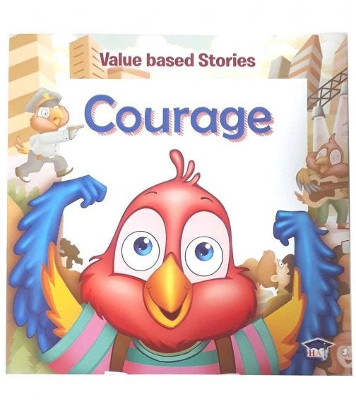 HOME APPLIED TRAINING Value Based Stories - Courage
