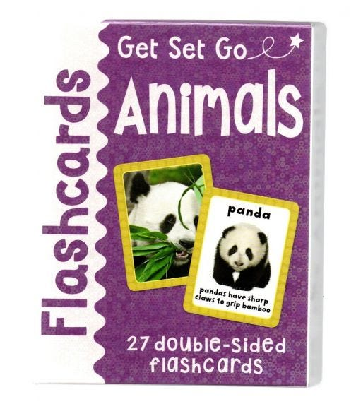MILES KELLY Animals Flash Cards