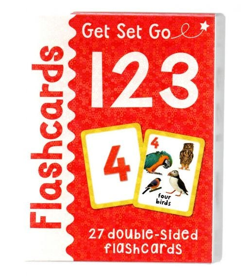 MILES KELLY 123 Flash Cards