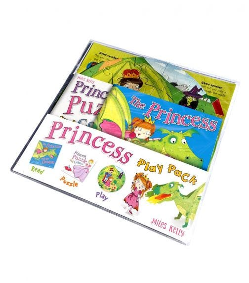 MILES KELLY The Princess Play Pack
