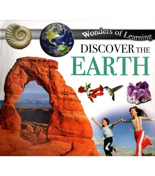 NORTH PARADE PUBLISHING Wonders Of Learning: Discover The Earth