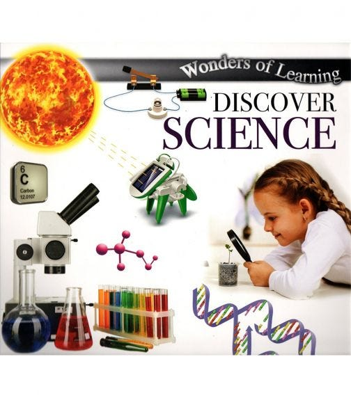NORTH PARADE PUBLISHING Wonders Of Learning: Discover Science