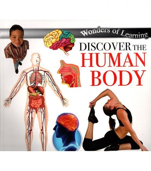 NORTH PARADE PUBLISHING Wonders Of Learning: Discover Human Body