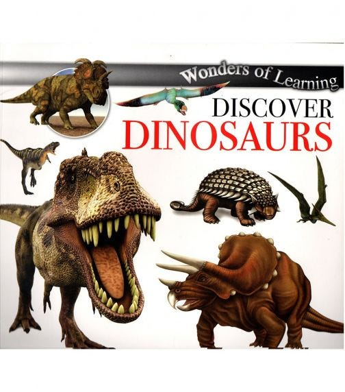 NORTH PARADE PUBLISHING Wonders Of Learning: Discover Dinosaurs