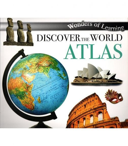 NORTH PARADE PUBLISHING Wonders Of Learning: Discover The World Atlas