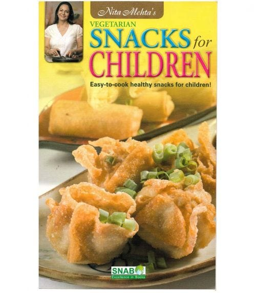 SNAB PUBLISHERS Snacks For Children  Easy To Cook