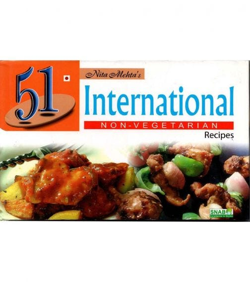 SNAB PUBLISHERS 51 International Recipes - Non Vegetarian