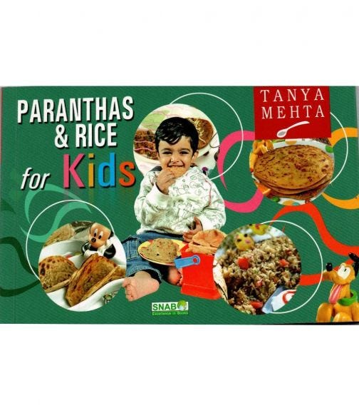 SNAB PUBLISHERS Paranthas And Rice For Kids