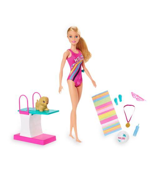 BARBIE Dreamhouse Doll Adventures Swimn Dive Doll