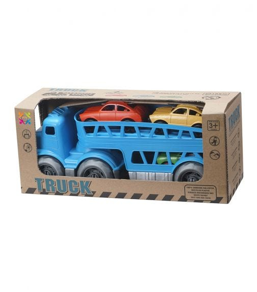 ROLL UP KIDS Eco Friendly Truck Bricks Vehicle