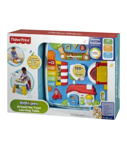 FISHER PRICE Laugh Learn Around The Town Learning Table