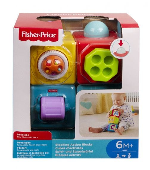 FISHER PRICE Core Stacking Action Blocks