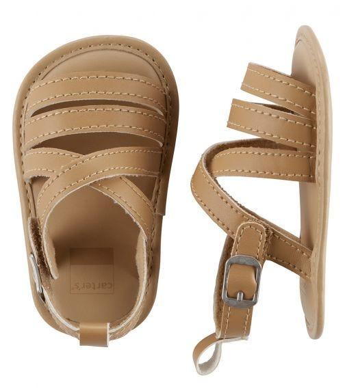 CARTER'S Strappy Sandal Baby Shoes