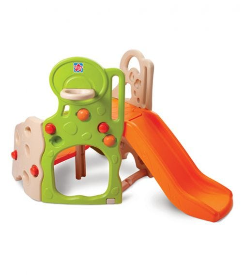 GROW N UP Lil Adventurers Climber And Slide