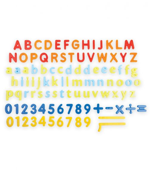 GROW N UP 101 Pieces Magnetic Letters Numbers & Signs