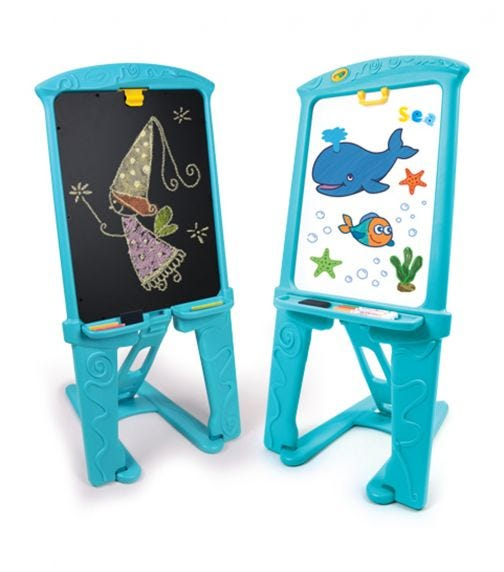 GROW N UP Qwik-Flip  Double Sided Easel