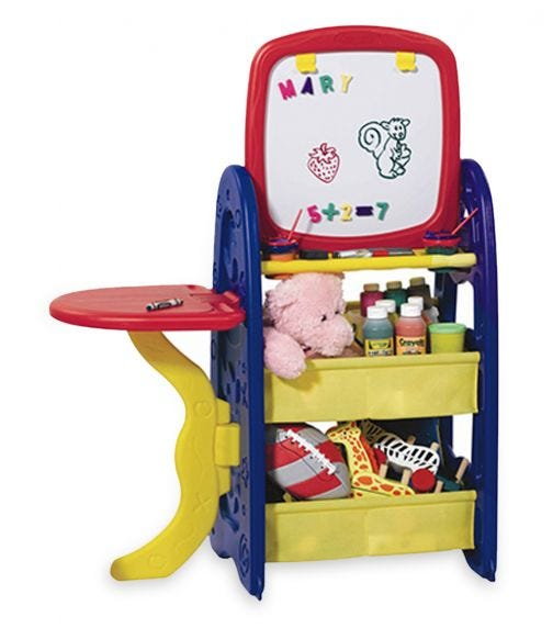 GROW N UP Ez Draw N Store Activity Center