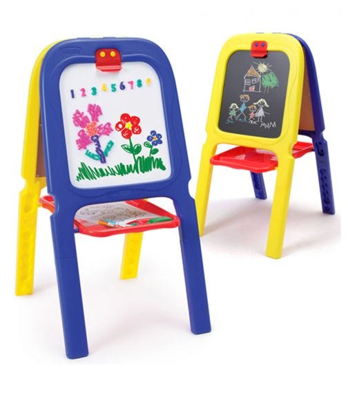 GROW N UP Crayola 3 In 1 Double Easel - Animal Themed