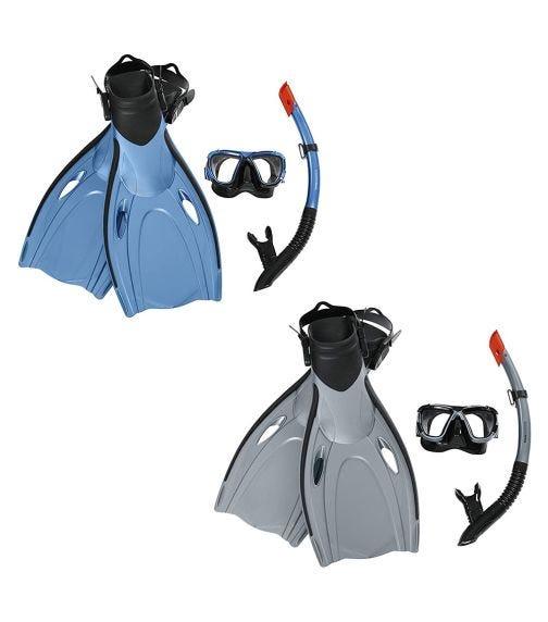 BESTWAY Hydro-Pro Blacksea Snorkel & Fin Set - S/M