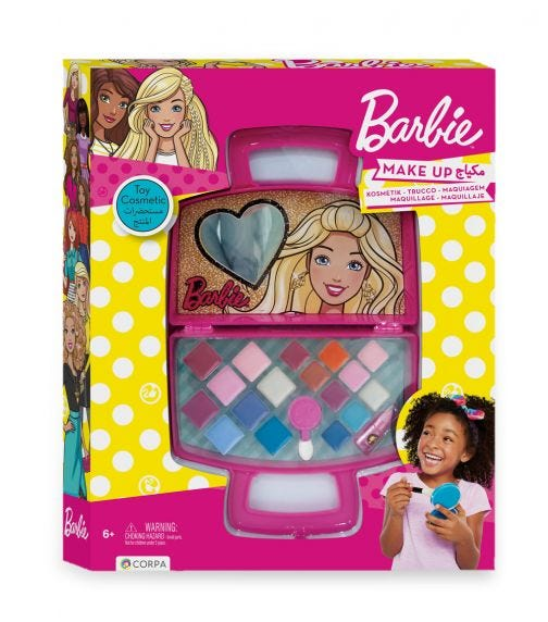 BARBIE Plastic Bag With Cosmetics In A Box