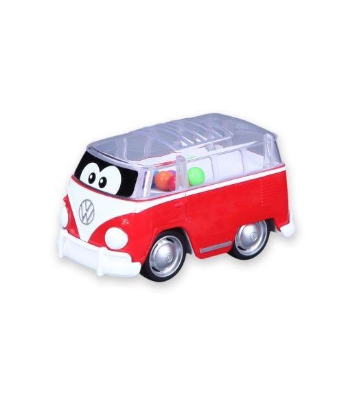 BB JUNIOR Volkswagen Poppin Bus Samba Bus Red Yellow 11