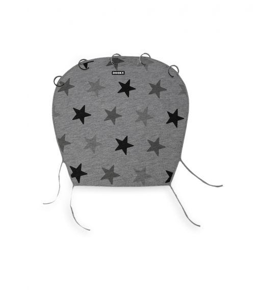 DOOKY Universal Cover - Grey Stars
