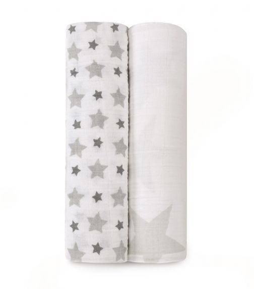 ADEN + ANAIS Classic 2-Pack Swaddles - Twinkle