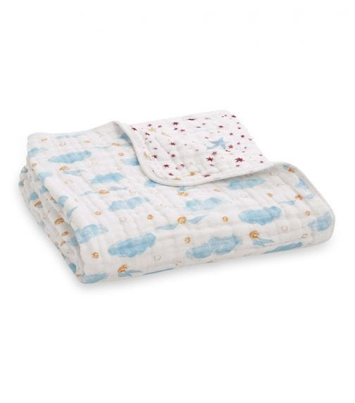ADEN + ANAIS Classic Dream Blanket Harry Potter - Snitch Dot